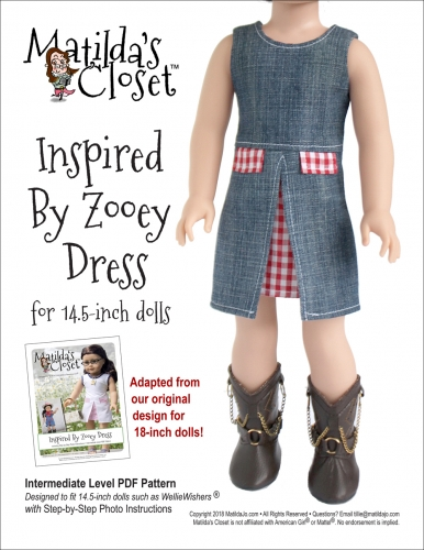 Inspired By Zooey Dress (14.5-inch)
